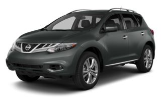 3/4 Front Glamour 2014 Nissan Murano
