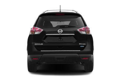 Rear Profile  2016 Nissan Rogue
