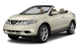 3/4 Front Glamour 2014 Nissan Murano CrossCabriolet