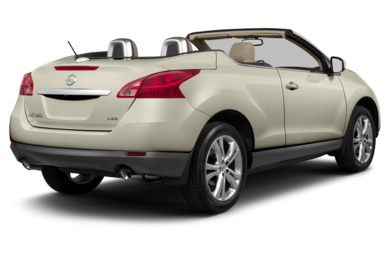 3/4 Rear Glamour  2014 Nissan Murano CrossCabriolet