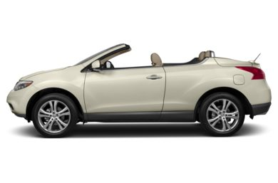 90 Degree Profile 2014 Nissan Murano CrossCabriolet