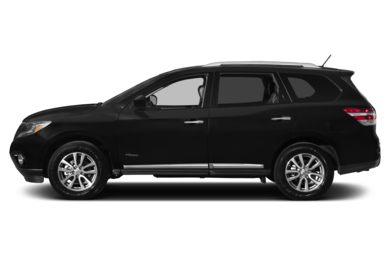 90 Degree Profile 2014 Nissan Pathfinder Hybrid