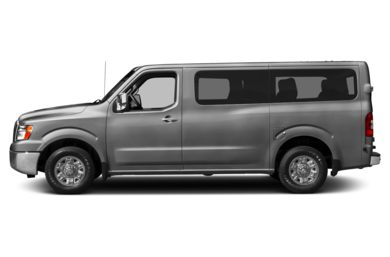 90 Degree Profile 2012 Nissan NV Passenger NV3500 HD