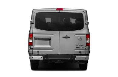 Rear Profile  2015 Nissan NV Passenger NV3500 HD
