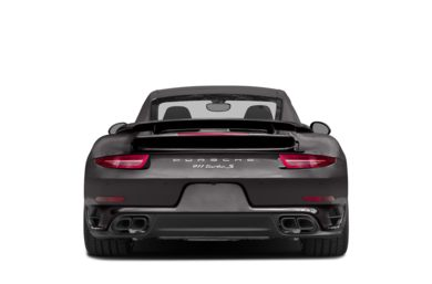 Rear Profile  2014 Porsche 911