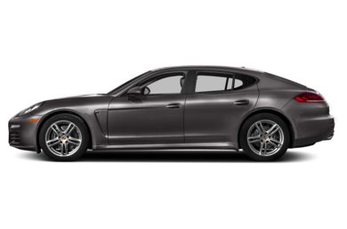 90 Degree Profile 2014 Porsche Panamera