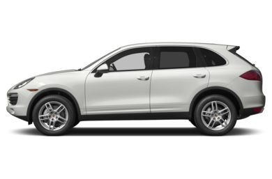 90 Degree Profile 2014 Porsche Cayenne