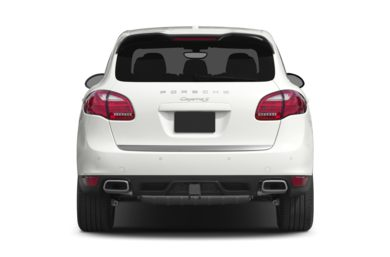 Rear Profile  2014 Porsche Cayenne