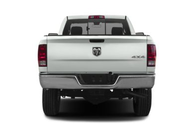 Rear Profile  2014 RAM 2500