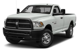 3/4 Front Glamour 2014 RAM 3500