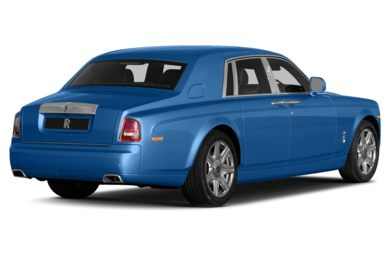 3/4 Rear Glamour  2014 Rolls-Royce Phantom