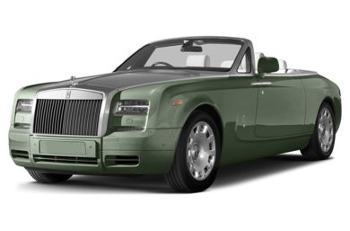 3/4 Front Glamour 2014 Rolls-Royce Phantom Drophead Coupe