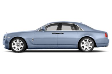 90 Degree Profile 2014 Rolls-Royce Ghost
