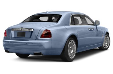 3/4 Rear Glamour  2014 Rolls-Royce Ghost