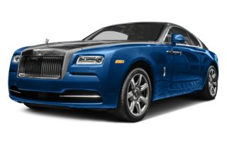 3/4 Front Glamour 2014 Rolls-Royce Wraith