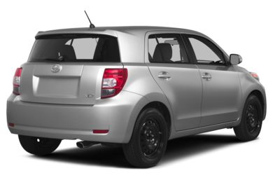 3/4 Rear Glamour  2014 Scion xD