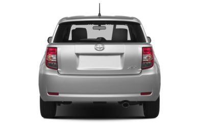 Rear Profile  2014 Scion xD