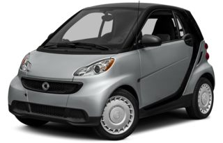 3/4 Front Glamour 2014 smart fortwo
