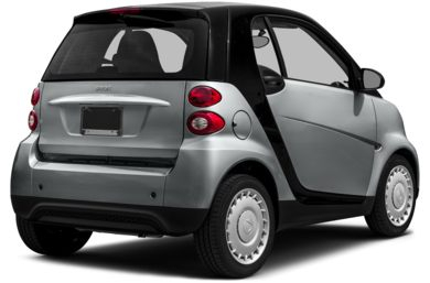 3/4 Rear Glamour  2014 smart fortwo