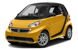 3/4 Front Glamour 2014 smart fortwo electric drive