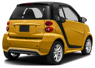 3/4 Rear Glamour  2014 smart fortwo electric drive