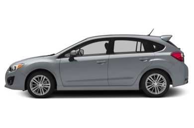 90 Degree Profile 2014 Subaru Impreza