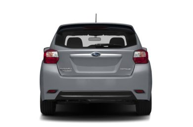 Rear Profile  2014 Subaru Impreza
