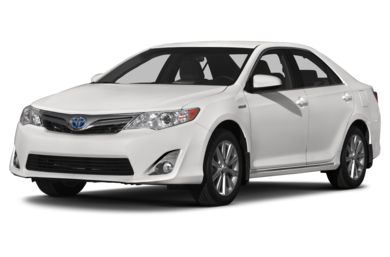 3/4 Front Glamour 2014 Toyota Camry Hybrid