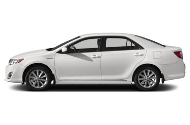 90 Degree Profile 2014 Toyota Camry Hybrid