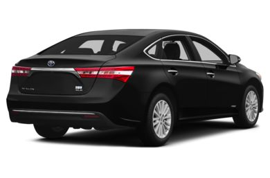 3/4 Rear Glamour  2013 Toyota Avalon Hybrid