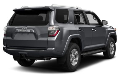 3/4 Rear Glamour  2014 Toyota 4Runner