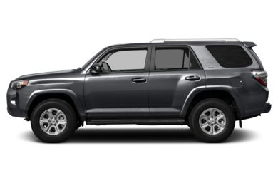 90 Degree Profile 2014 Toyota 4Runner