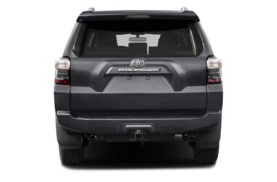 Rear Profile  2014 Toyota 4Runner