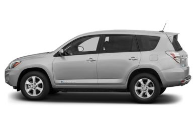 90 Degree Profile 2014 Toyota RAV4 EV