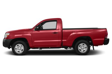 90 Degree Profile 2014 Toyota Tacoma