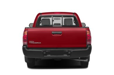 Rear Profile  2014 Toyota Tacoma