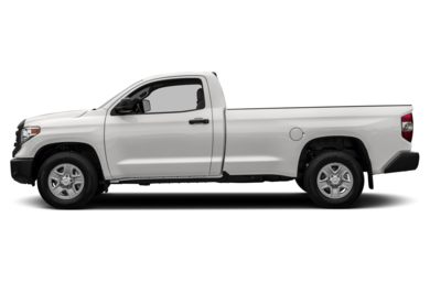 90 Degree Profile 2014 Toyota Tundra