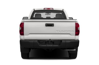 Rear Profile  2014 Toyota Tundra