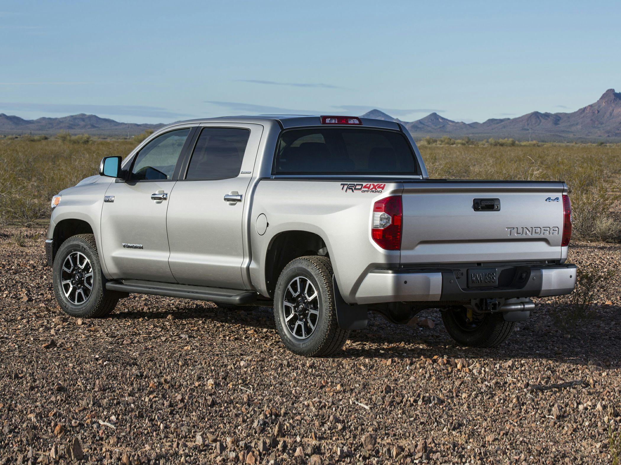 2015 Toyota Tundra Rear