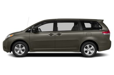 90 Degree Profile 2014 Toyota Sienna