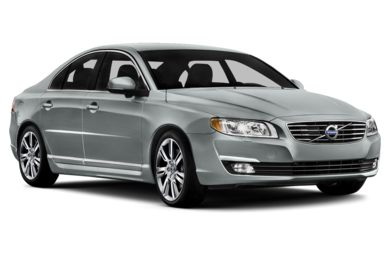 3/4 Front Glamour 2014 Volvo S80