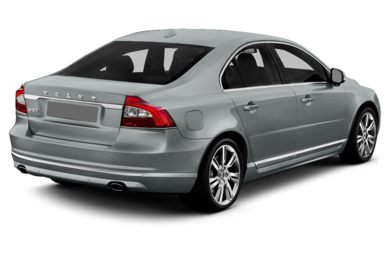 3/4 Rear Glamour  2014 Volvo S80