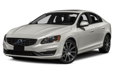 3/4 Front Glamour 2015 Volvo S60