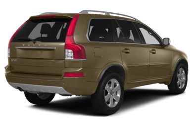 3/4 Rear Glamour  2014 Volvo XC90