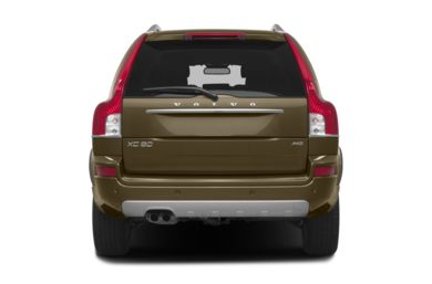 Rear Profile  2014 Volvo XC90