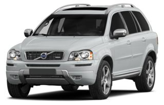 3/4 Front Glamour 2014 Volvo XC90