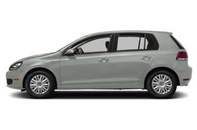 90 Degree Profile 2014 Volkswagen Golf