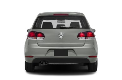 Rear Profile  2014 Volkswagen Golf
