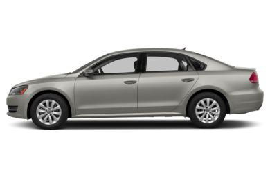 90 Degree Profile 2014 Volkswagen Passat