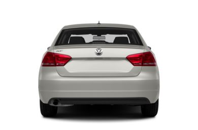 Rear Profile  2014 Volkswagen Passat